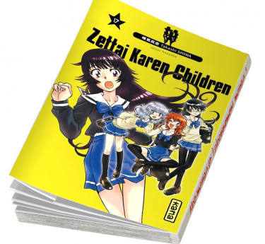 Zettai Karen Children Zettai Karen Children T17