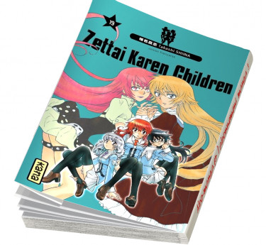 Zettai Karen Children Zettai Karen Children T19