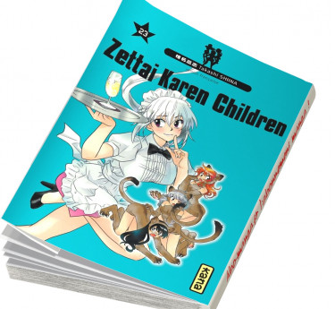 Zettai Karen Children Zettai Karen Children T23
