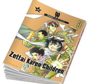 Zettai Karen Children Zettai Karen Children T28