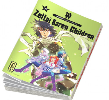 Zettai Karen Children Zettai Karen Children T36