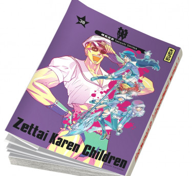 Zettai Karen Children Zettai Karen Children T38