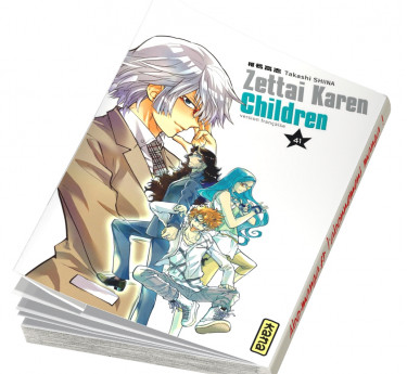 Zettai Karen Children Zettai Karen Children T41