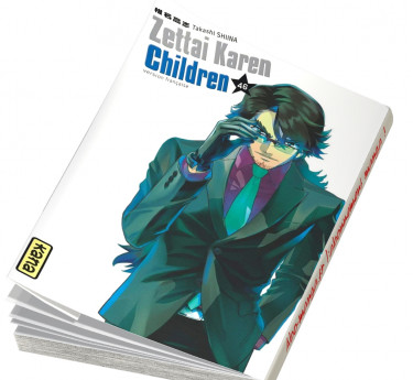 Zettai Karen Children Zettai Karen Children T46