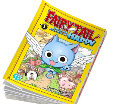 Fairy Tail - La grande aventure de Happy Fairy Tail - La grande aventure de Happy T01