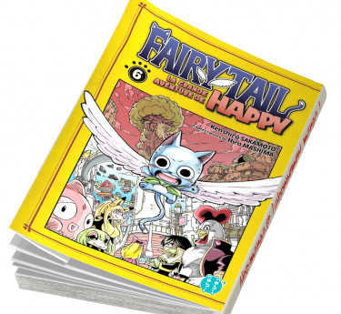 Fairy Tail - La grande aventure de Happy Fairy Tail - La grande aventure de Happy T06