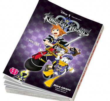 Kingdom Hearts l'intégrale KINGDOM HEARTS L'INTEGRALE T06