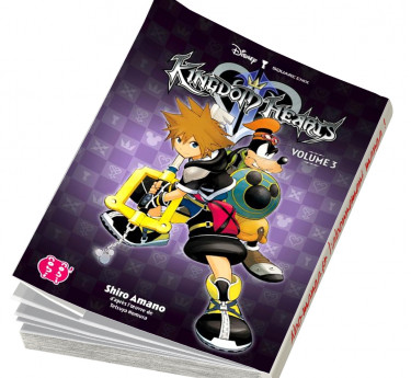 Kingdom Hearts l'intégrale KINGDOM HEARTS L'INTEGRALE T07