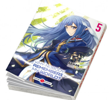 Why nobody remembers my world ? Abonnement manga Why nobody remembers my world ?