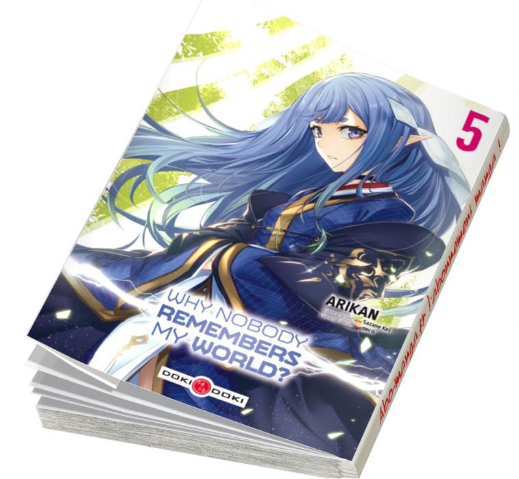 Abonnement manga Why nobody remembers my world ?
